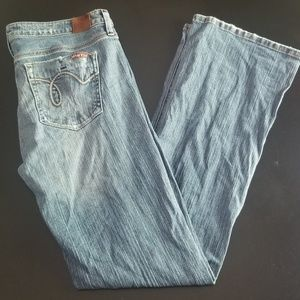 Hint Jeans Size 11 Distressed